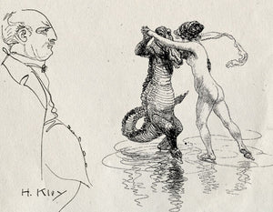 Heinrich Kley and the Edenic Relationship of Humans with Animals