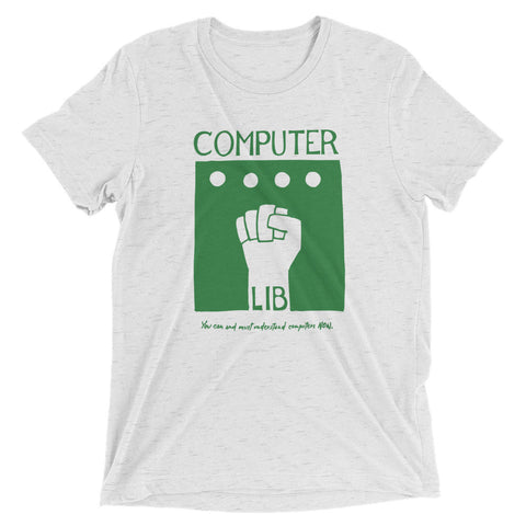 Ted Nelson's Computer Lib T-Shirt