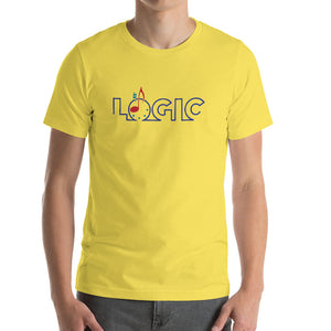 Emagic Logic Bella+Canvas 3001 Unisex Short Sleeve Jersey T-Shirt Front Mens Yellow