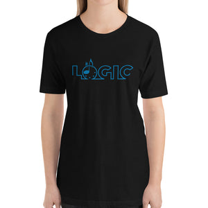 Emagic Logic Bella+Canvas 3001 Unisex T-Shirt Front Womens Black