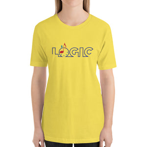 Emagic Logic Bella+Canvas 3001 Unisex T-Shirt Front Womens Yellow
