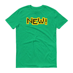New Anvil 980 Lightweight T-Shirt Front Flat Heather Green