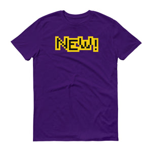 New Anvil 980 Lightweight T-Shirt Front Flat Purple