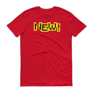 New Anvil 980 Lightweight T-Shirt Front Flat Red