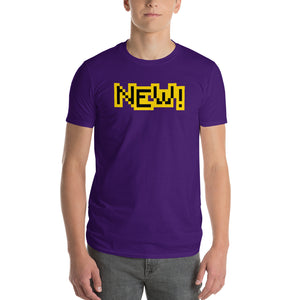 New Anvil 980 Lightweight T-Shirt Front Mens Purple