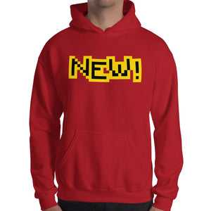 New Gildan 18500 Unisex Heavy Blend Hooded Sweatshirt Front Mens Red