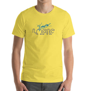 Notator Logic Bella Canvas 3001 Unisex T-Shirt Front Mens Yellow