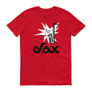 Sax Anvil 980 Lightweight T-Shirt Front Flat Red