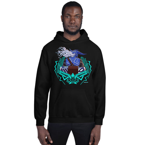 Drum King Guards Blue Unisex Hoodie