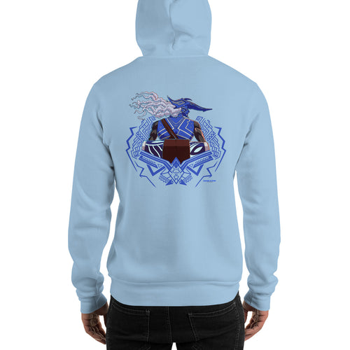 Drum King Stance and Guard Unisex Hoodie