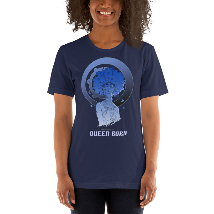Oshun Queen Born V Short-Sleeve Unisex T-Shirt