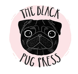 The Black Pug Press logo