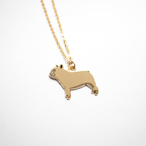 French bulldog frenchie necklace