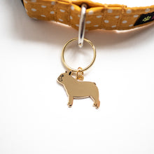 french bulldog dog ID tag