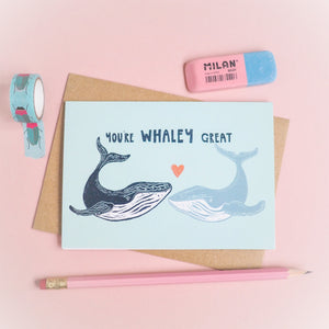 You're whaley great card