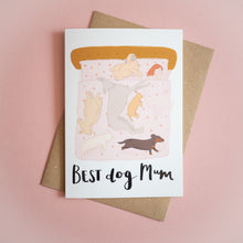 Best dog mum A6 card