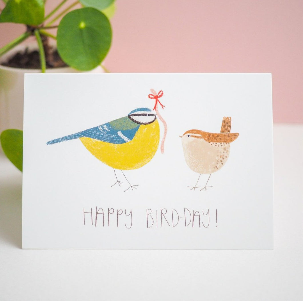 Happy Bird-Day Birthday Card