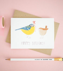 british bird birthday card