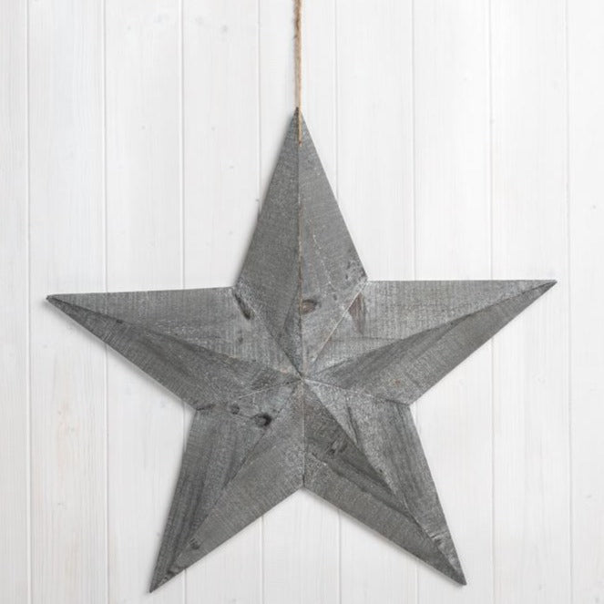 Wooden Barn Star