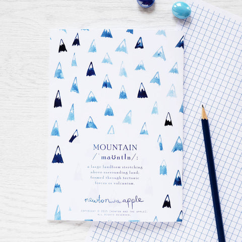 'Move Mountains' Notebook