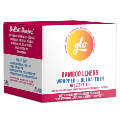 Glo Bamboo Liners For Sensitive Bladder
