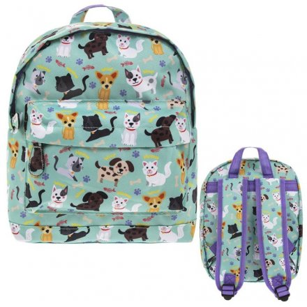 Cats and Dogs Mini Backpack