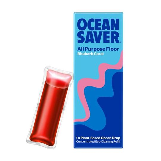 OceanSaver All Purpose Floor Rhubarb Coral Refill Drops