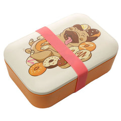Bamboo Composite Pug Lunch Box