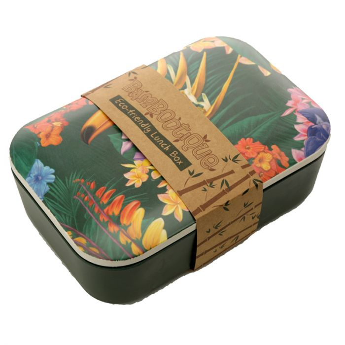 Bamboo Composite Toucan Lunch Box