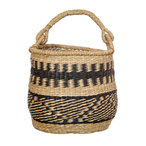 Seagrass Nomad Basket with Handle