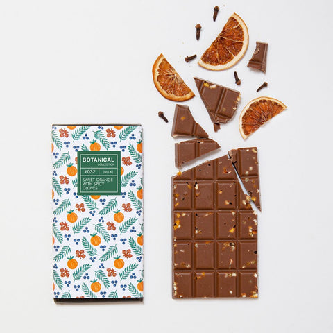 Orange and Clove Milk Chocolate Bar