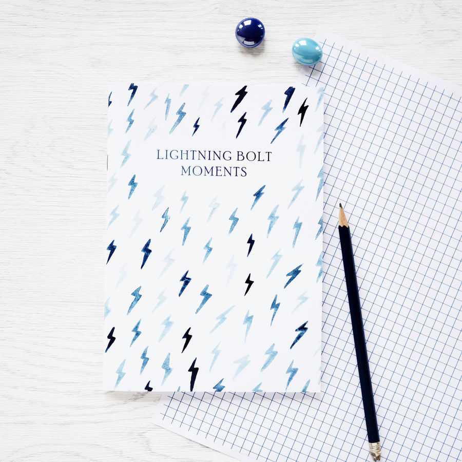'Lightning Bolt' Notebook