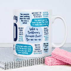 'Emergency Dad Jokes' Mug