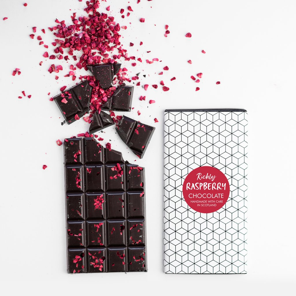 Raspberry Dark Chocolate Bar