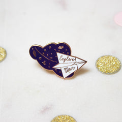 'Explore More' Pin