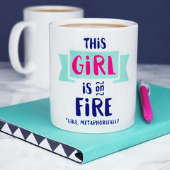 'This Girl Is On Fire' Mug