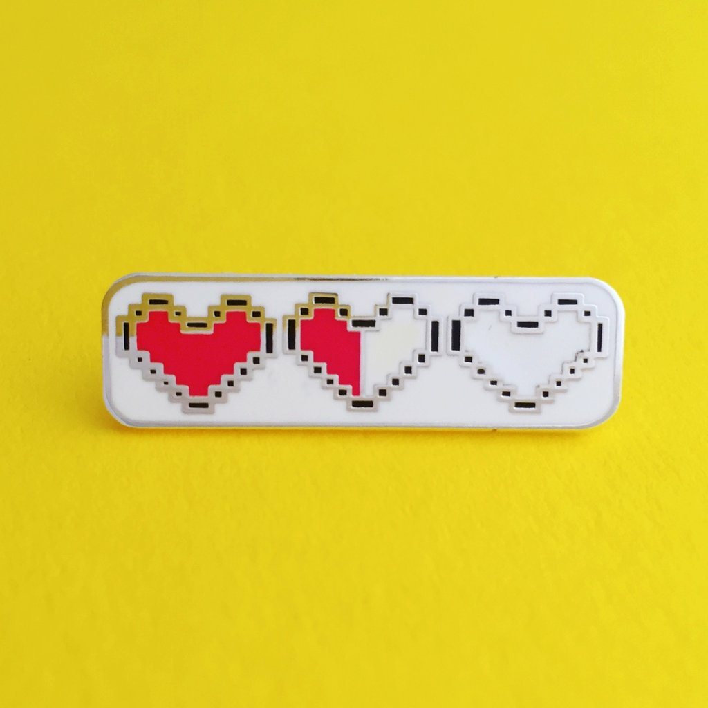 Heart Container Pin