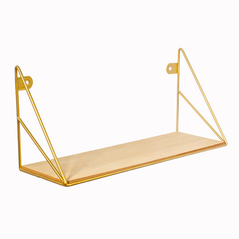 Gold Loft Shelf
