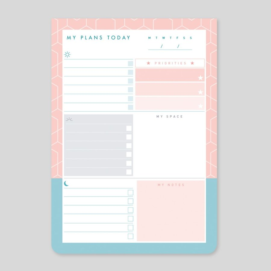 A5 Daily List Pad
