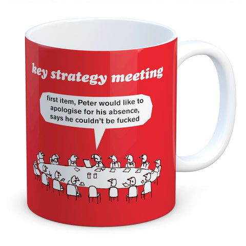 Strategy Meeting Mug