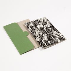 Avocado Leaf Notebook and Holder