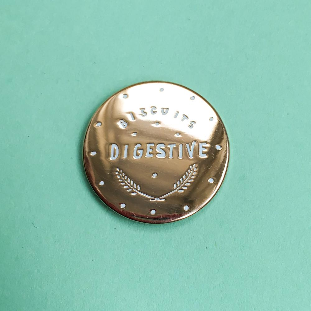 Nikki McWilliams Digestive Pin