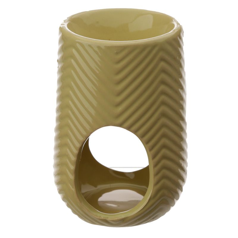 Ceramic Herring Bone Oil and Tart Burner