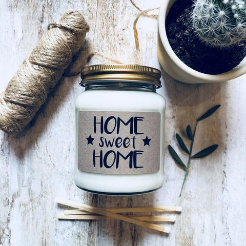 'Home Sweet Home' Scented Soy Candle