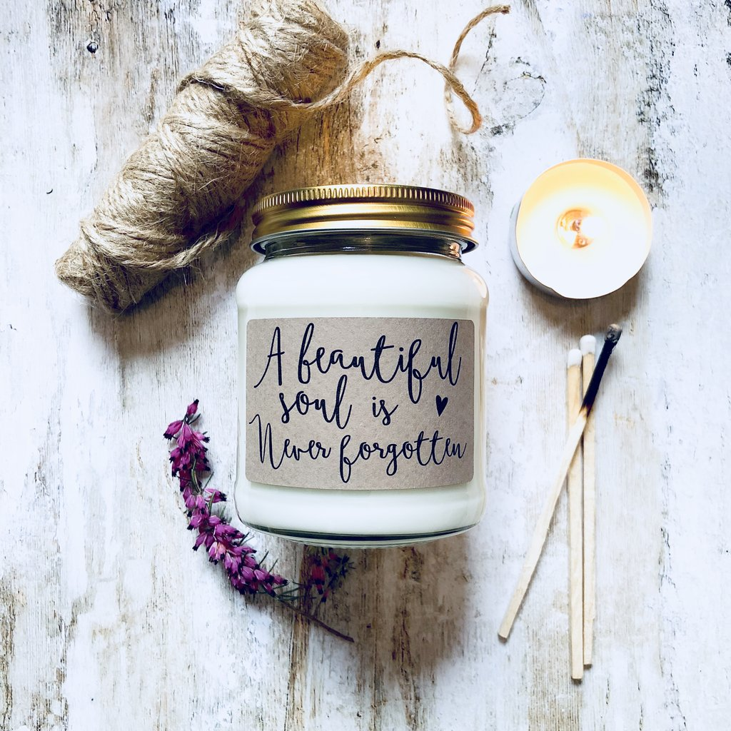 'Beautiful Soul' Scented Soy Candle