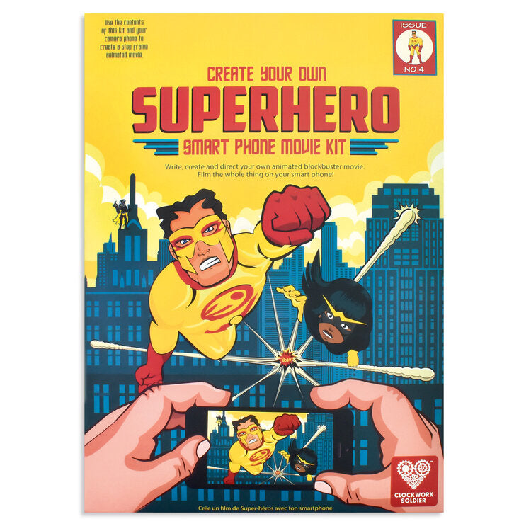 Create Your Own Superhero Smartphone Movie Kit