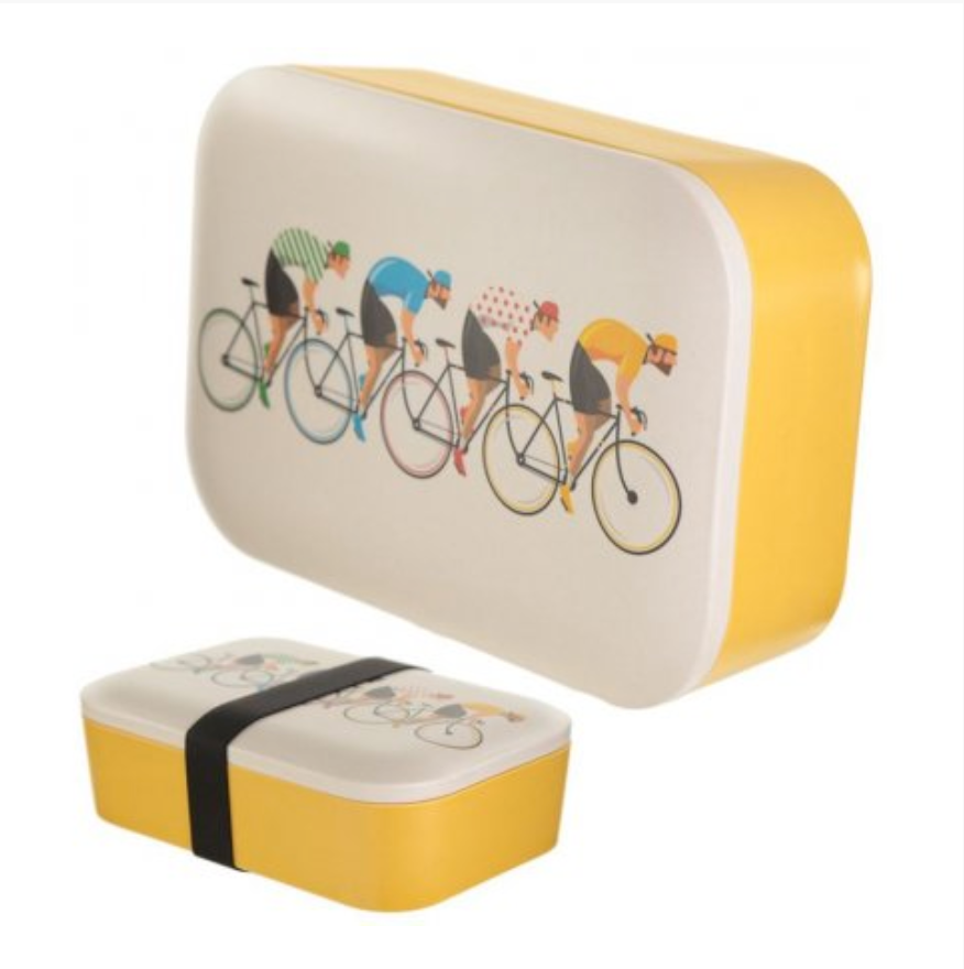 Bamboo Cycling Bento Box