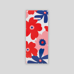 Slim List Pad Red Floral