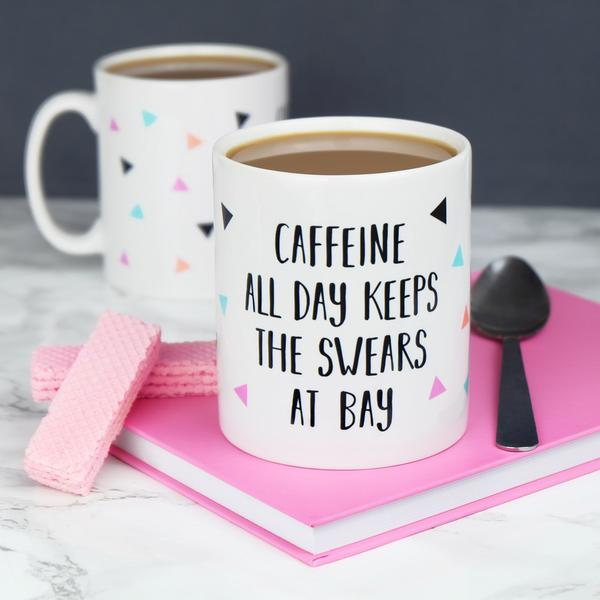 'Keeps The Swears At Bay' Mug