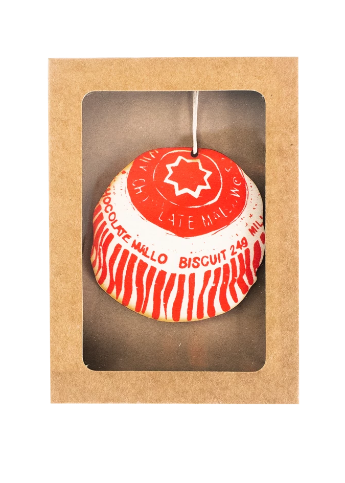 Wooden Teacake Decoration